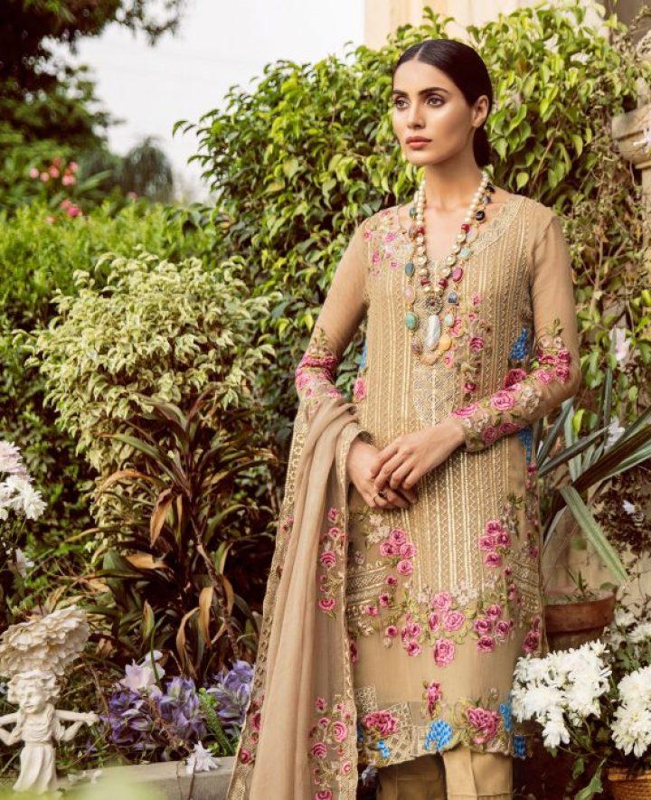 Shariq Textile Mina Hassan Eid Collection 2019