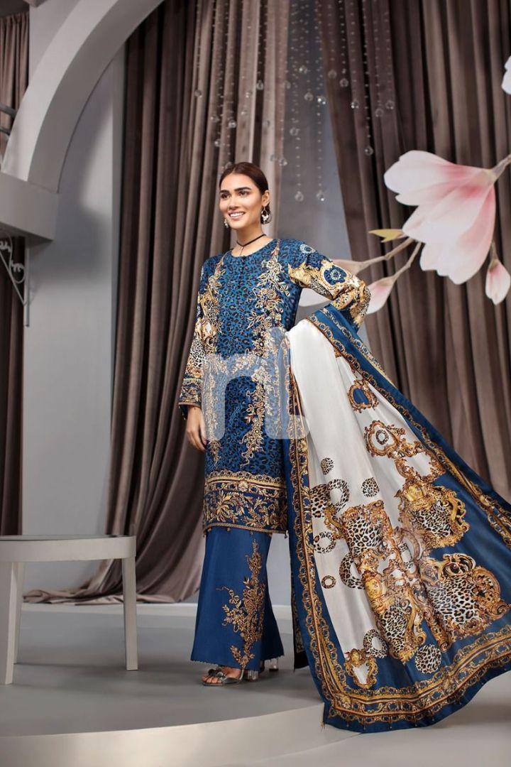 Latest Nishat Linen Lawn Eid Collection 2019