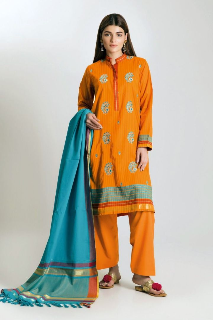 Khaadi Unstitched Lawn Eid Collection 2019