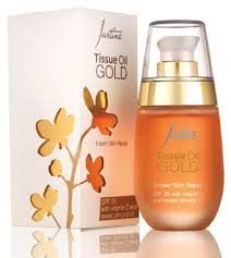 JUSTINE TISSUE OIL GOLD