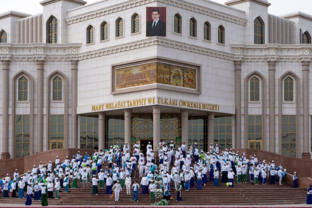 wereldfietsdag mary turkmenistan