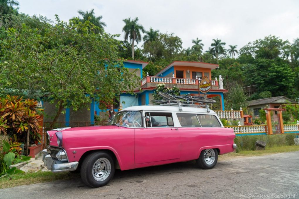 Roze taxi