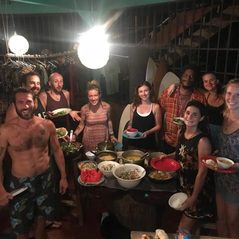 costa rica vrijwilligerswerk hostel