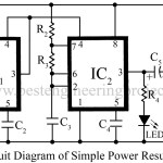 Simple Power Supply Resumption Alarm