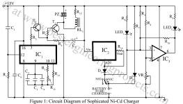 circuit diagram of sophisticated ni-cd charger