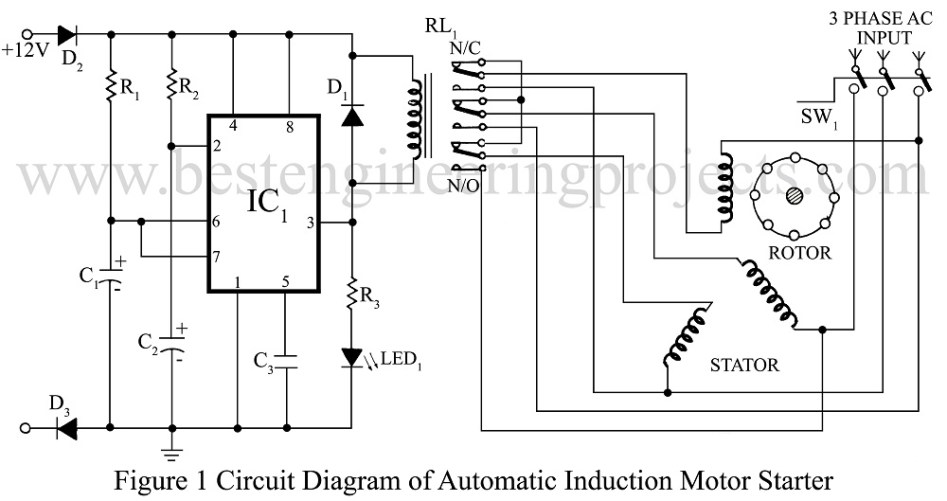 wiring diagram induction motor wiring image wiring wiring diagram of 3 phase induction motor jodebal com on wiring diagram induction motor