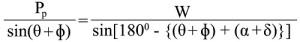 columb passive earth pressure formula 2