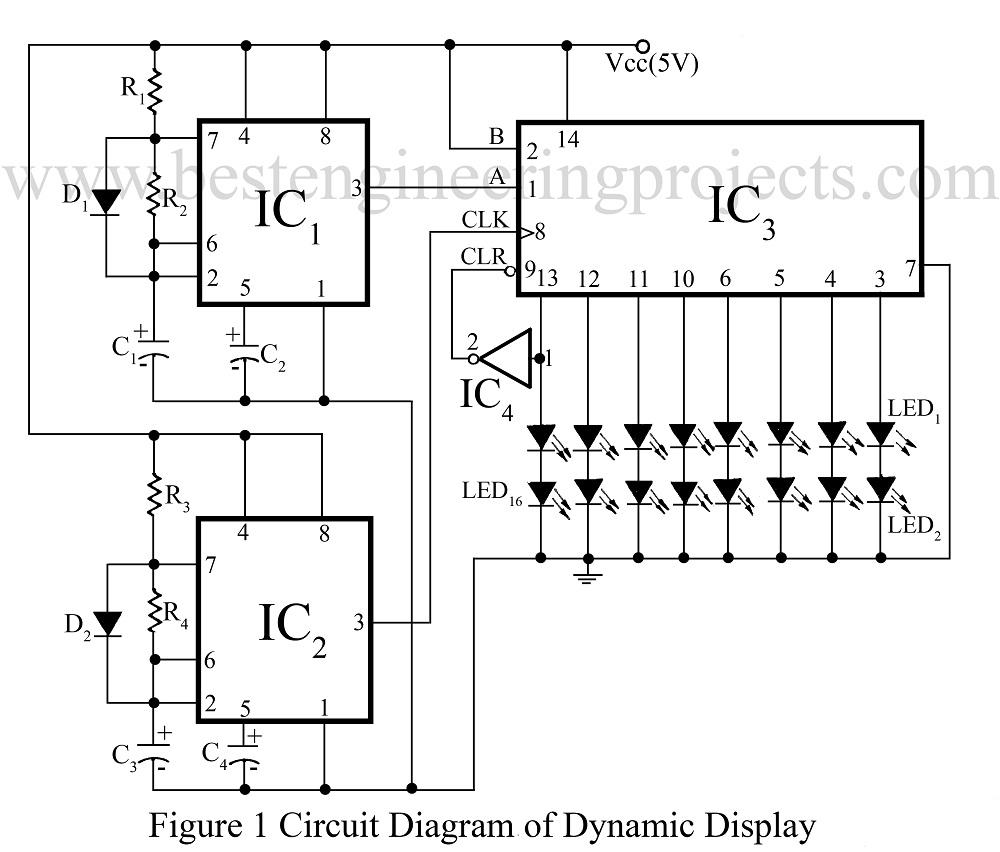Led    Strobe Light Circuit    Diagram     ImageResizerToolCom
