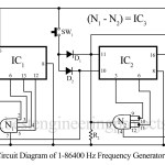 1/86400 Hz Frequency Ganerator Circuit
