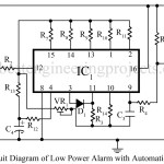 Low Power Alarm Automatic Timer