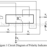 DC Volt Polarity Indicator Using IC 741