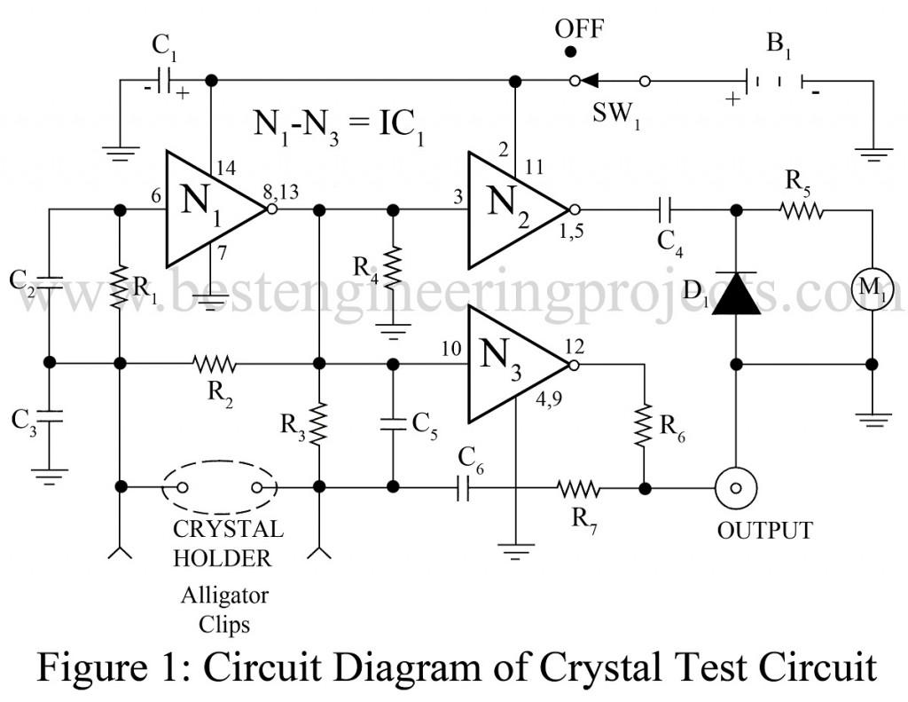 Pierce Oscillator Circuit Crystal Circuits