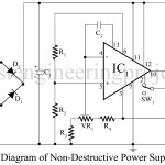 Non-Destructive Power Supply Circuit