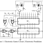 Electronic Game Circuit | Electronic Pendulum