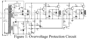 circuit diagram of over-voltage protection circuit