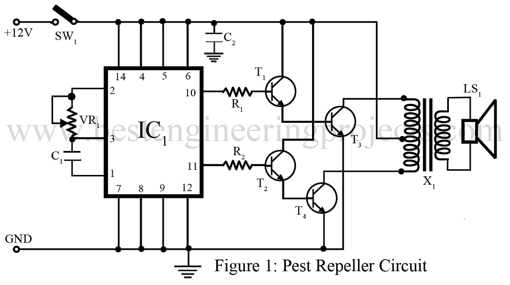 pest repeller circuit