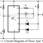 Door Ajar Alarm Circuit