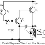 Touch Switch-Cum-Heat Operated Switch