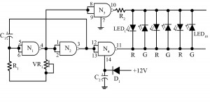 disco light circuit