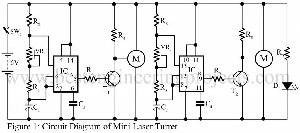 mini laser turret