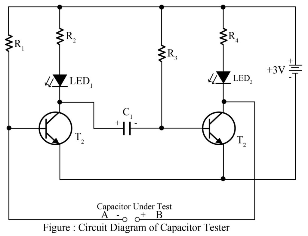 Capacitor Tester cum Flasher | Best Engineering Projects