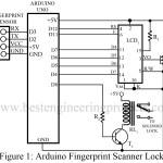 Arduino Fingerprint Sensor Lock