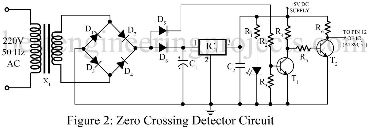 ac motor speed controller circuit using at89c51 best engineering Ac Motor Diagram zero crossing detector circuit for ac motor speed ac motor diagram