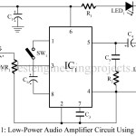 Low Power Audio Amplifier Using LM386