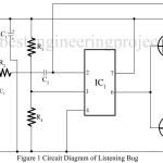 Listening Bug Using op-amp 741