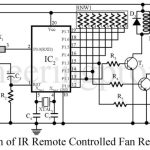 IR Remote Controller Fan Regulator using AT89C2051