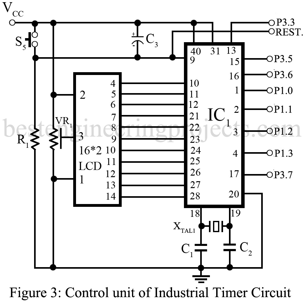industrial timer circuit