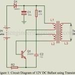 12V DC Ballast Circuit