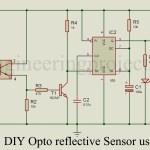 DIY Opto Reflector Sensor using 555
