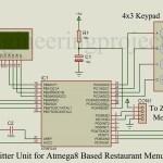 ATmega8 Based Restaurant Menu Ordering System