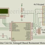 ATmega8 Based Restaurant Menu Ordering System