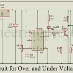 Auto Cut Circuit for Over and Under Voltage