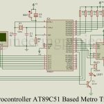 Microcontroller AT89C51 based Metro Train Prototype