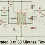 Sound Activated 0-30 Minutes Timer Circuit