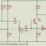 Dynamic Microphone Pre-amplifier Circuit