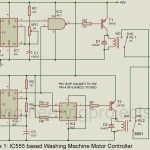 Motor Controller Circuit for Washing Machine