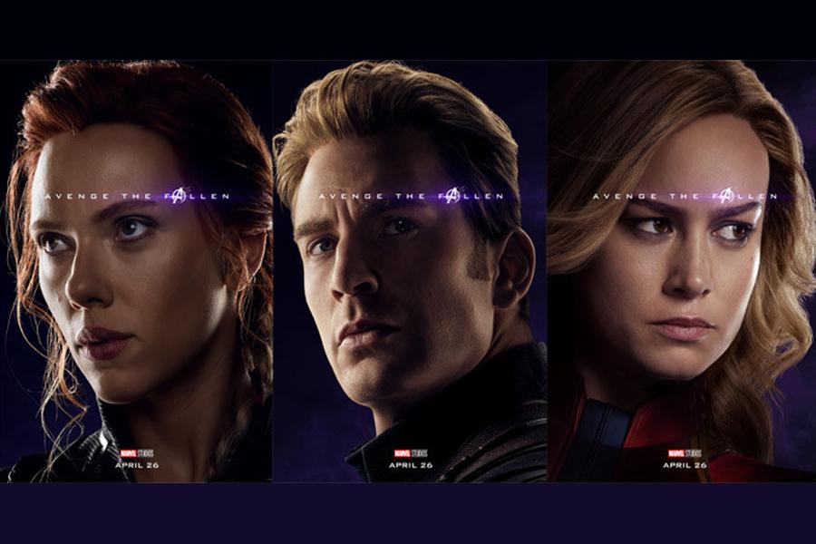Avengers: Endgame Portrait Posters