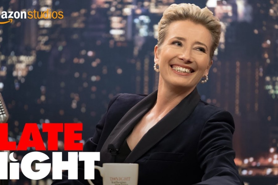 Review: Late Night is Emma Thompson's (and Mindy Kaling's} King Lear