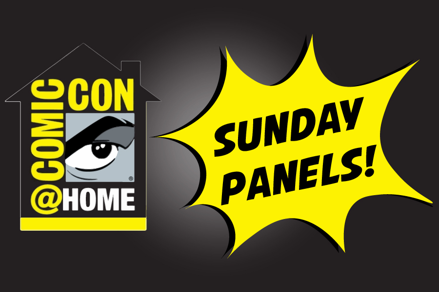 Comic-Con @ Home – Sunday