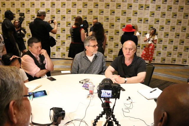 Marvel's Agents of S.H.I.E.L.D. Press Room Jeffery Bell and Jeph Loeb