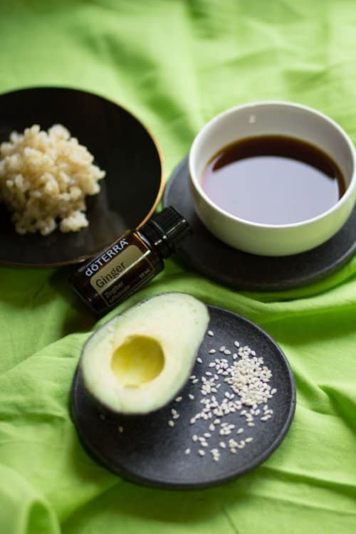 doTERRA Lazy Avocado Sushi Recipe