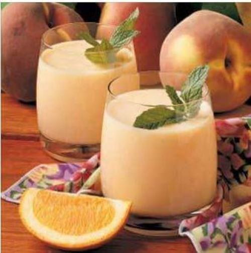 doTERRA Wild Orange & Peach Smoothie Recipe