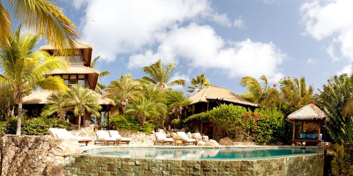 Bali Lo Panorama, Necker Island, British Virgin Islands, Caribbean, Prestigious Venues