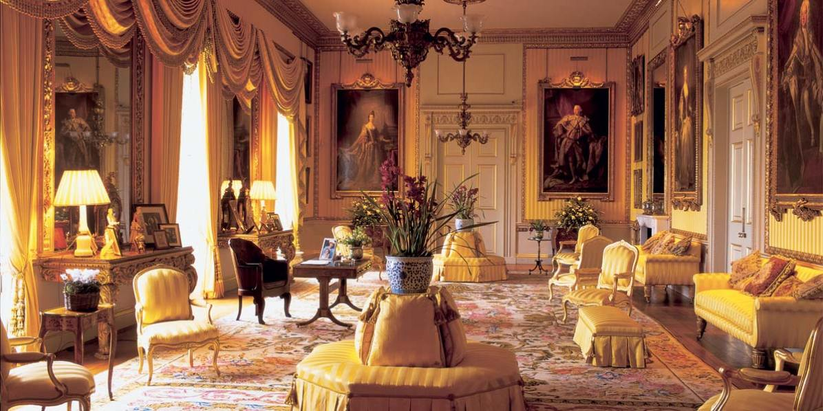 Beautiful Reception Venue, The Yellow Drawing Room, Goodwood House, Prestigious Venues