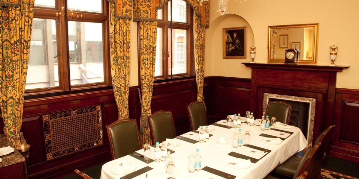 Business Meeting Venue Close To Bank, London Capital Club, Prestigious Venues
