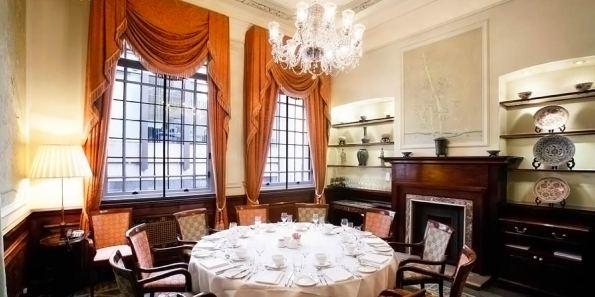 Private Dining Venue, The Oriental Room, London Capital Club, Prestigious Venues